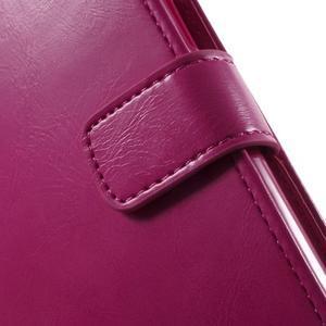 Mercury PU kožené puzdro pre mobil Samsung Galaxy J5 - rose - 6