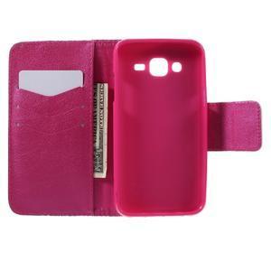 Dairy peňaženkové puzdro pre Samsung Galaxy J5 - farebné kruhy - 6