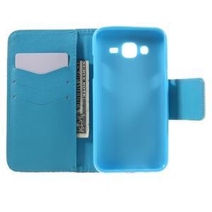 Dairy peněženkové pouzdro na Samsung Galaxy J5 - modrý slon - 6