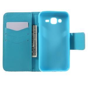 Dairy peňaženkové puzdro pre Samsung Galaxy J5 - vodní kvet - 6