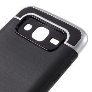 Odolný obal na mobil Samsung Galaxy J5 - stříbrný - 6