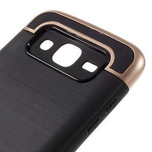Odolný obal pre mobil Samsung Galaxy J5 - champagne - 6