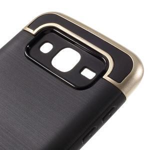 Odolný obal pre mobil Samsung Galaxy J5 - zlatý - 6