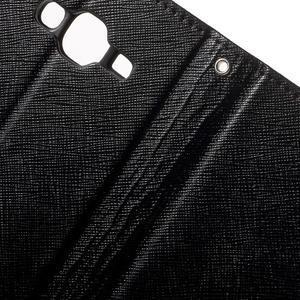 Crossy koženkové pouzdro na Samsung Galaxy J5 - černé - 6