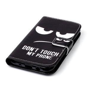 Pictu peňaženkové puzdro pre Samsung Galaxy J5 - nesiahat - 6