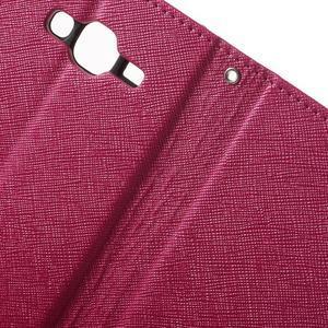 Crossy koženkové pouzdro na Samsung Galaxy J5 - rose - 6