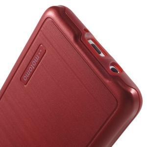 Gélový obal s plastovou výstuhou pre Samsung Galaxy J5 (2016) - červený - 6