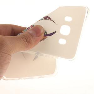 Gélový obal pre mobil Samsung Galaxy J5 (2016) - farebná pierka - 6