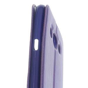 Royal pouzdro s okýnkem na Samsung Galaxy J5 (2016) - fialové - 6