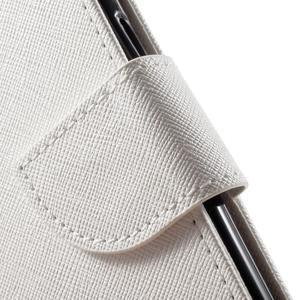 Routy PU kožené pouzdro na Samsung Galaxy J5 (2016) - bílé - 6