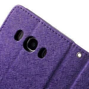 Routy PU kožené pouzdro na Samsung Galaxy J5 (2016) - fialové - 6