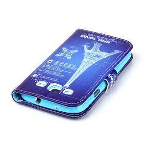 Emotive peňaženkové puzdro pre Samsung Galaxy S3 - Eiffelova veža - 6