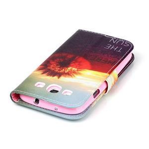 Emotive peňaženkové puzdro pre Samsung Galaxy S3 - východ slnka - 6