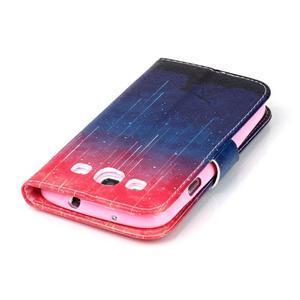 Emotive peňaženkové puzdro pre Samsung Galaxy S3 - meteory - 6