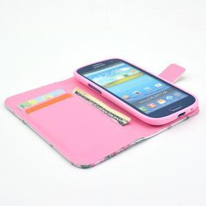 Pictu puzdro pre mobil Samsung Galaxy S3 - kvetinová koláž - 6