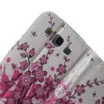 Knížečkové puzdro pre Samsung Galaxy S3 - kvitnúca vetvička - 6/7
