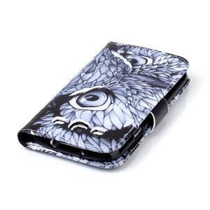 Emotive peňaženkové puzdro pre Samsung Galaxy S3 - sova - 6