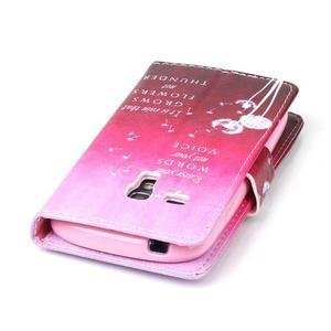 Emotive puzdro pre mobil Samsung Galaxy S3 mini - púpavy - 6