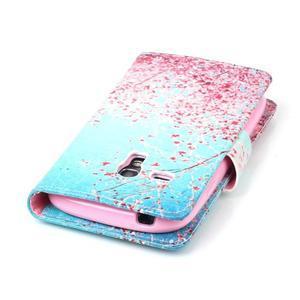 Emotive puzdro pre mobil Samsung Galaxy S3 mini - kvitnúca slivka - 6
