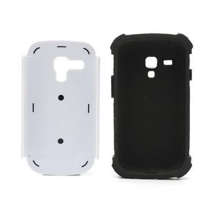Outdoor odolný obal pre mobil Samsung Galaxy S3 mini - biely - 6