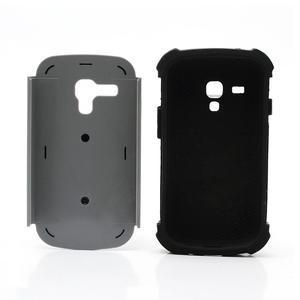 Outdoor odolný obal na mobil Samsung Galaxy S3 mini - šedý - 6