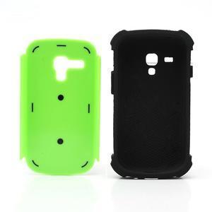 Outdoor odolný obal pre mobil Samsung Galaxy S3 mini - zelený - 6