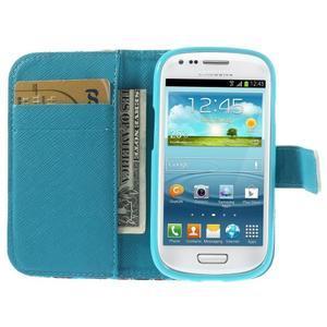 Knížkové puzdro pre mobil Samsung Galaxy S3 mini - New York - 6