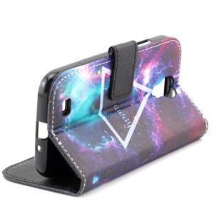 Standy peňaženkové puzdro pre Samsung Galaxy S4 - triangl - 6