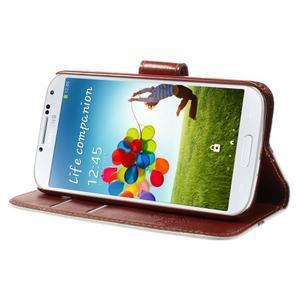 Elegant peňaženkové puzdro pre Samsung Galaxy S4 - Eiffelova veža - 6