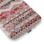 Ultratenký slim gélový obal pre Samsung Galaxy S4 - geo tvary - 6/6