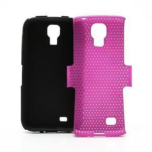Odolný obal pre mobil Samsung Galaxy S4 - rose - 6
