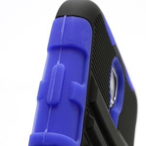 Odolný ochranný silikonový kryt na Samsung Galaxy S4 - modrý - 6