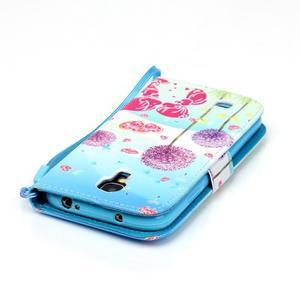 Knížkové koženkové pouzdro na Samsung Galaxy S4 - láska - 6