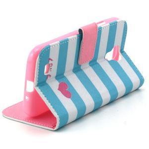 Standy peňaženkové puzdro pre Samsung Galaxy S4 - love - 6
