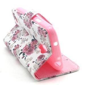 Puzdro pre mobil Samsung Galaxy S4 mini - kvety - 6