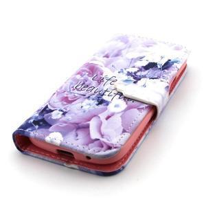 Diaryleather pouzdro na mobil Samsung Galaxy S4 mini - beatiful - 6