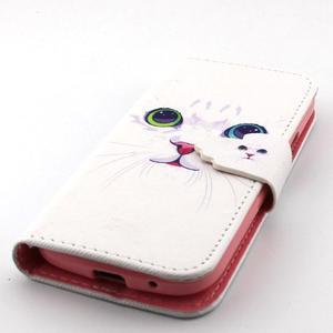 Diaryleather pouzdro na mobil Samsung Galaxy S4 mini - kočička - 6