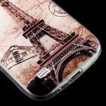 Gélový obal pre mobil Samsung Galaxy S4 mini - Eiffelova veža - 6/6