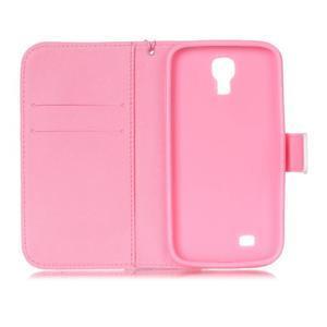 Diary peňaženkové puzdro pre mobil Samsung Galaxy S4 mini - púpavy - 6