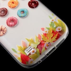 Gélový obal pre mobil Samsung Galaxy S4 mini - donuts - 6