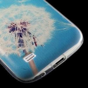 Gélový obal pre mobil Samsung Galaxy S4 mini - púpava - 6