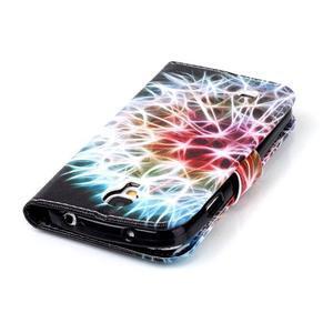 Emotive peněženkové pouzdro na Samsung Galaxy S4 mini - barevená pampeliška - 6