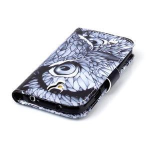 Emotive peněženkové pouzdro na Samsung Galaxy S4 mini - sova - 6