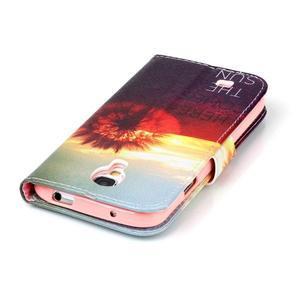 Emotive peňaženkové puzdro pre Samsung Galaxy S4 mini - východ slnka - 6