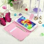 Ochranné puzdro pre mobil Samsung Galaxy S5 - kvety - 6/6