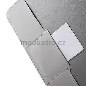 Ochranné koženkové puzdro na Samsung Galaxy Tab E 9.6 - Eiffelova veža - 6