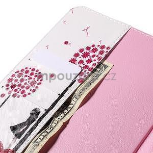 Ochranné koženkové puzdro na Samsung Galaxy Tab E 9.6 - dievča & púpavy - 6