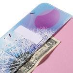 Ochranné koženkové puzdro na Samsung Galaxy Tab E 9.6 - odkvitnutá púpava - 6/7
