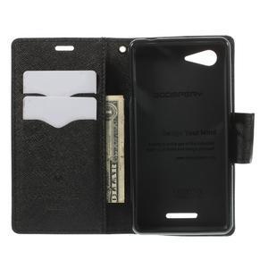 Richmercury puzdro pre mobil Sony Xperia E3 - čierne - 6