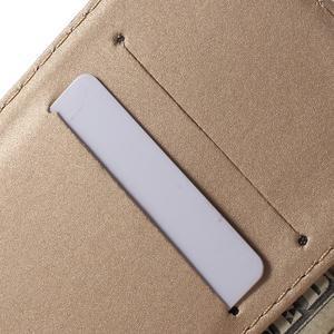 Květinkové pouzdro na mobil Sony Xperia M4 Aqua - fialové - 6